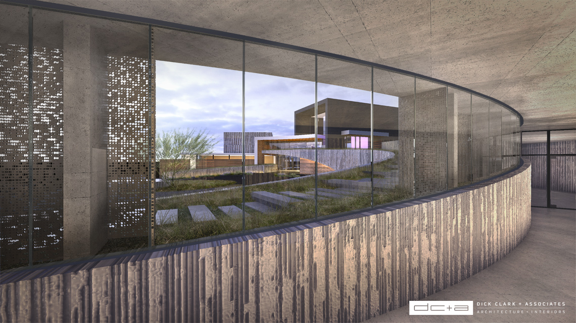Rendering - DC+A Hotel